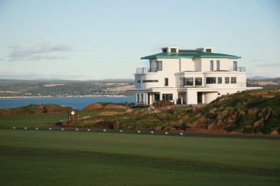 Castle Stuart Golf Links - Clubhouse from Driving Range