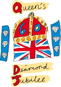 The Queen's Diamond Jubilee Emblem
