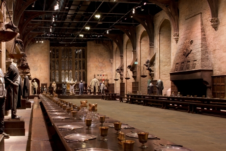 Harry Potter tour - Great Hall at Hogwarts