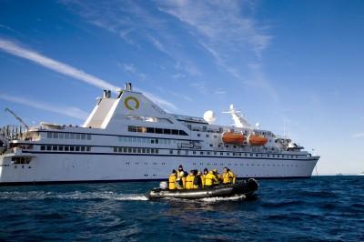 The Ocean Diamond cruise ship