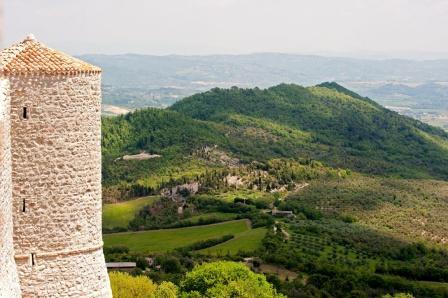 Italian Castle in Umbria
