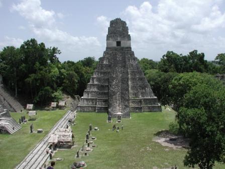 Maya ruins in central America