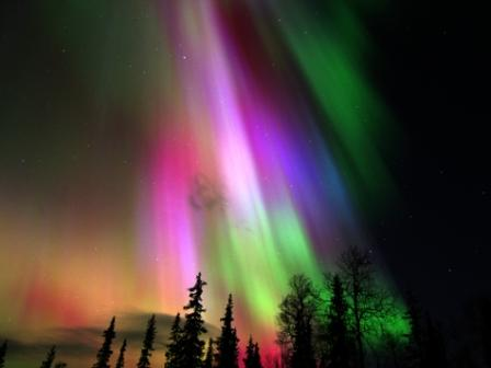 Magic aurora Northern Lights