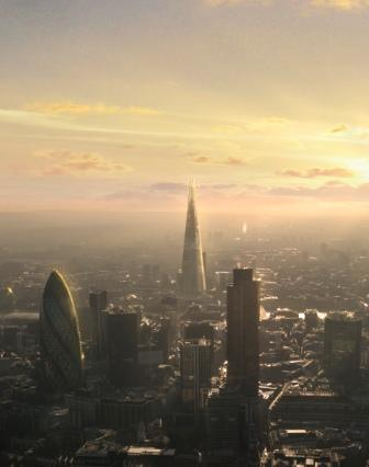 The View From The Shard in London opens in Feb 2013