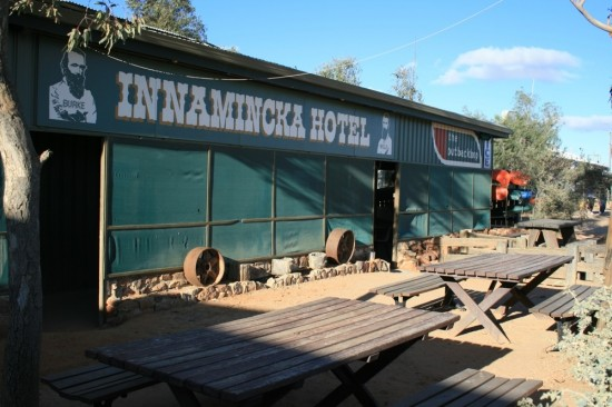 A cool beer at the Innamincka Hotel anyone?