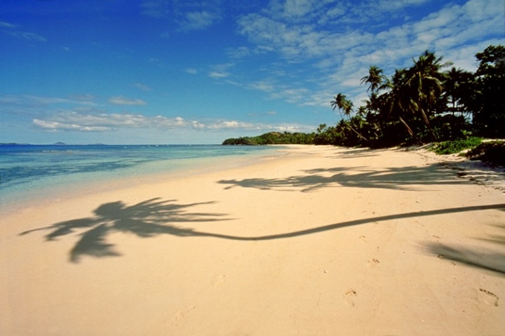Beach on Fiji