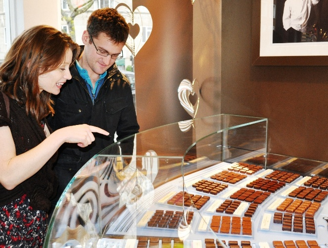 Guests enjoying a Chocolate Ecstasy Tour
