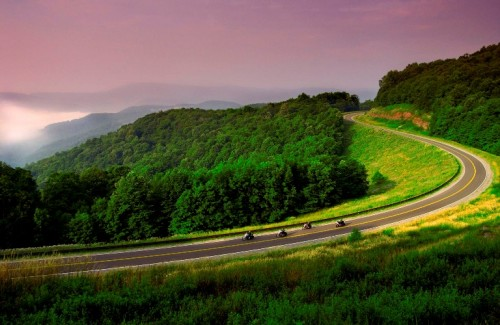 Motorbiking in West Virginia