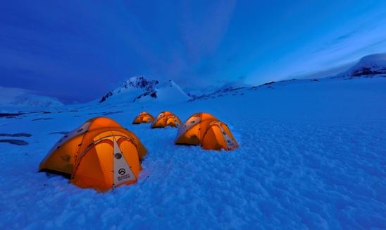 Amundsen at Night