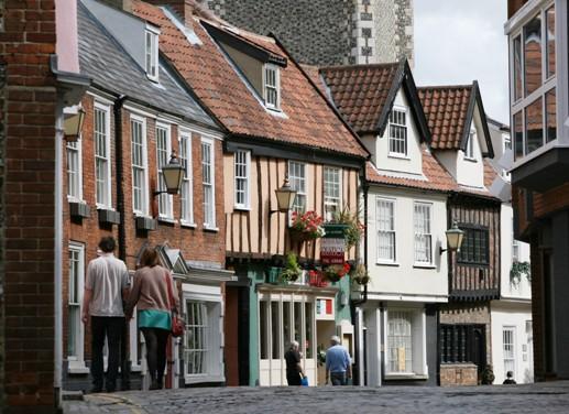 Princes Street in Norwich