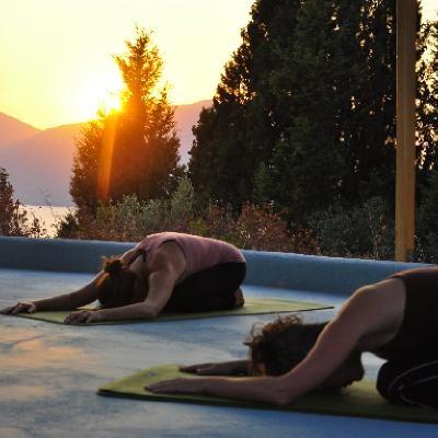 Yoga on Silver Island