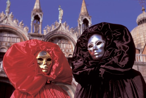 Masked fun at the Venice Carnival