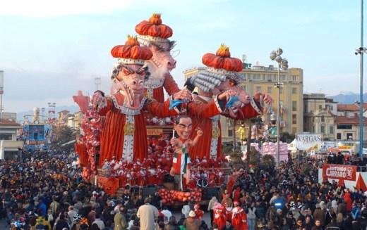 Viareggio Carnival, Italy