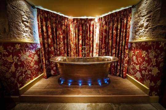 Bath tub at Newton Hall