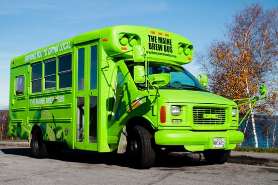 The Maine Brew Bus, Portland, Maine