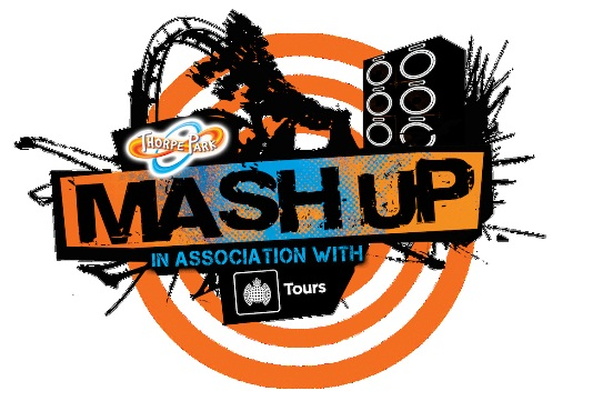 Thorpe Park Mash-Up logo