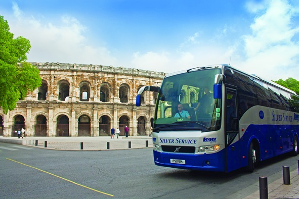 Silver Service Coach in Nimes, France