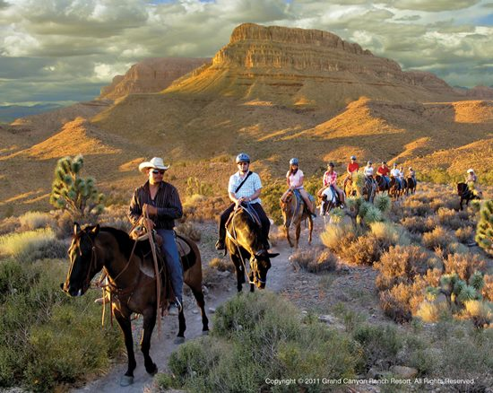 Horseback riding, Grand Canyon