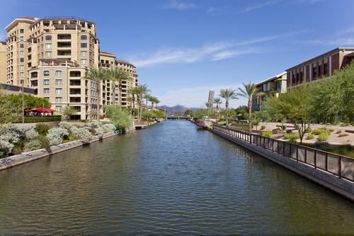 Scottsdale riverfront