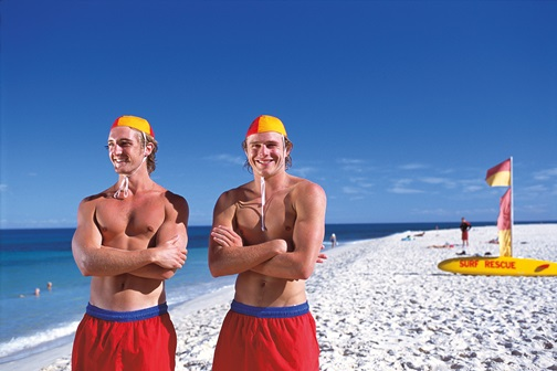 Lifeguards Perth Beach