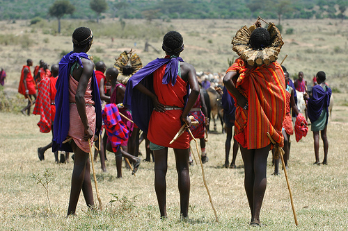 Masai people in Kenya