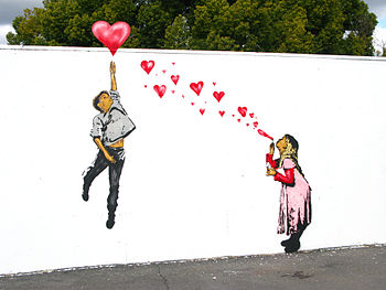 Valentines Love Wall Mural
