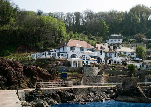 The Cary Arms at Babbacombe Bay in Devon