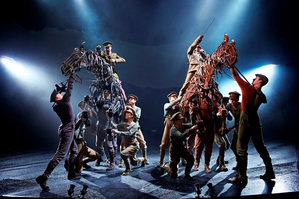 The cast of War Horse
