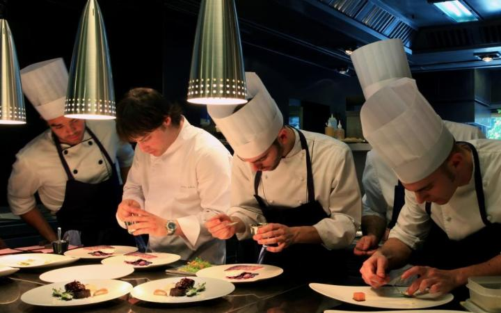 ABaC Restaurant and Hotel, Barcelona, Michelin-star chef Jordi Cruz