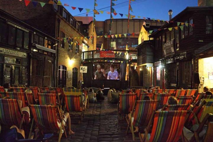 Backyard Cinema, Camden