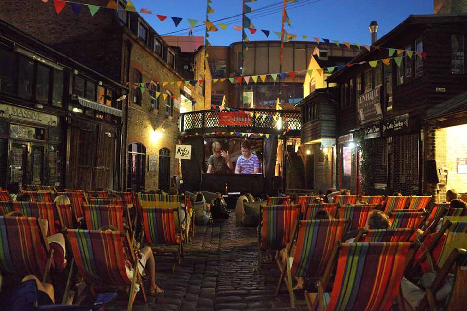 Backyard Cinema, Camden