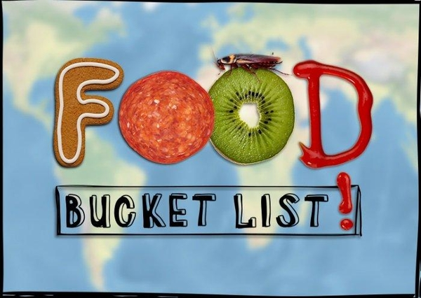 Foodie bucket list
