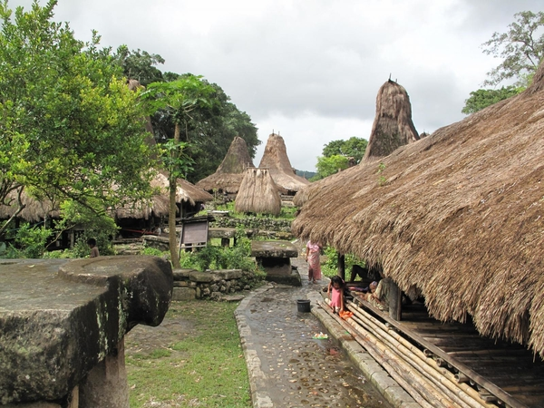 Tombs on the island of Sumba