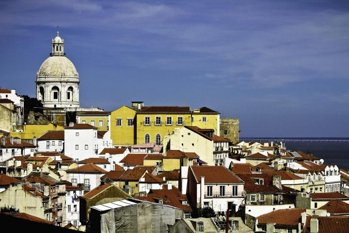 Rooftops of Lisbon, Portugal