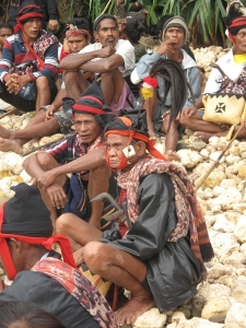 Tribes on the island of Sumba