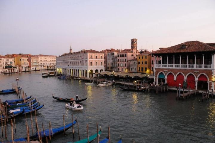 Venice view from Ca'Sagredo