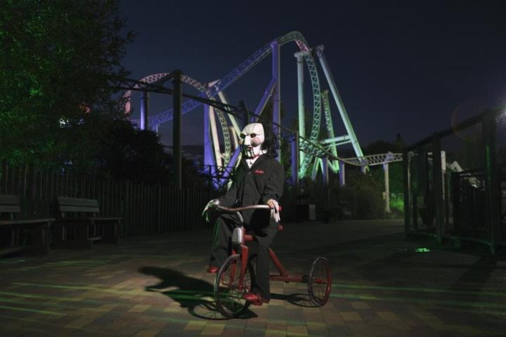 Thorpe Park Fright Nights at Halloween