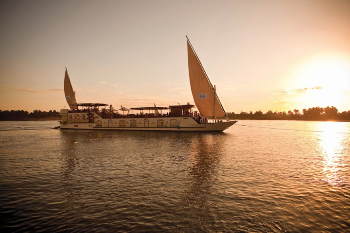 Cruising on the Nile