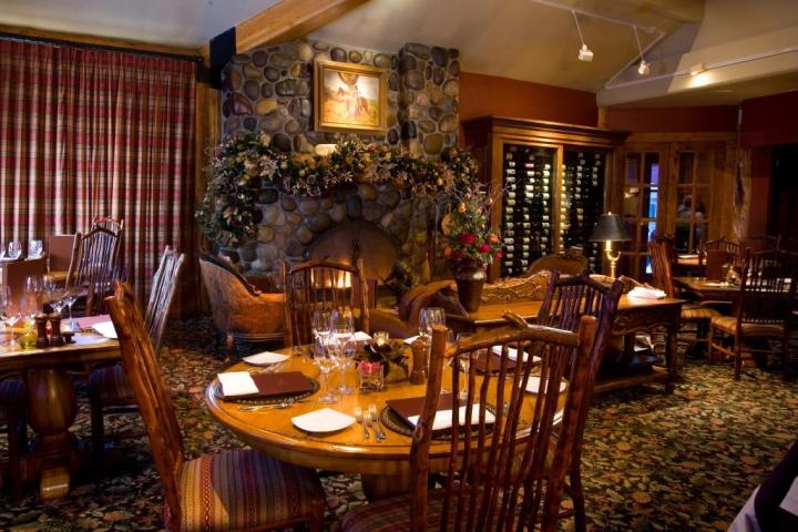 Wild Sage Dining Room at the Rusty Parrot Hotel