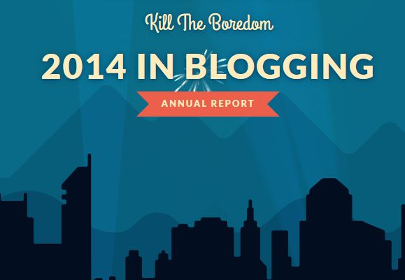 KTB 2014 Blogging Report