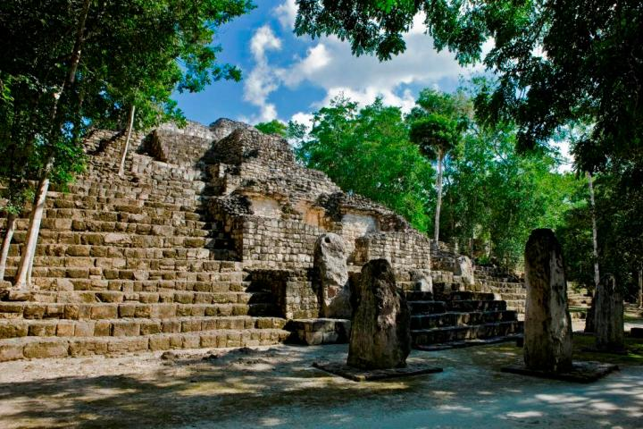Ruins of Calakmul, Campeche, Mexico
