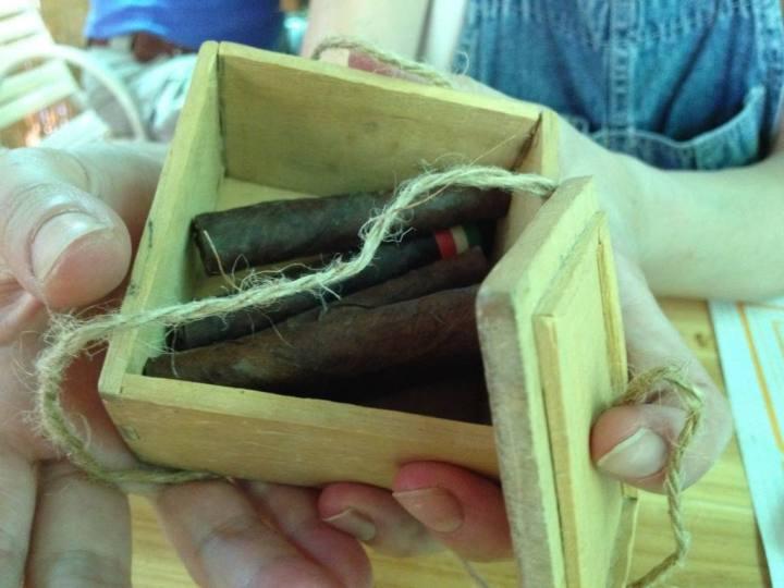 Toscano cigar - credit Sapori e Saperi Adventures