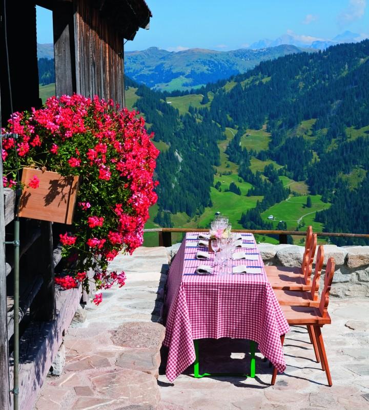 Walig Hut, Gstaad Palace, Switzerland