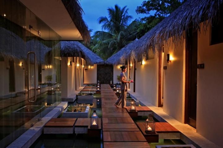 Luxury accommodation in the Maldives