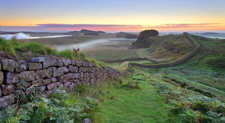 Hadrian's Wall -(photo credit: Northumberland National Park).