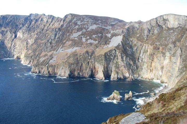 Slieve League Cliffs in Donegal, Ireland