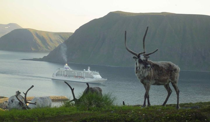 Regent Seven Seas Voyager in Norway