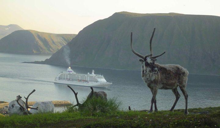 Regent Seven Seas Voyager in Norway